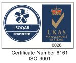 RiserTec Certification ISO 9001-2015